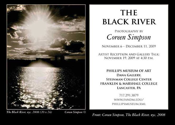 "Invitation to ""The Black River"" Exhibition"