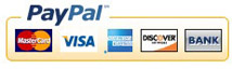 We accept payments with Paypal.